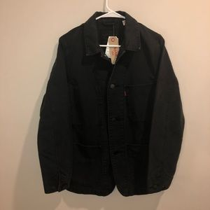 Levi's Strauss denim black light jacket